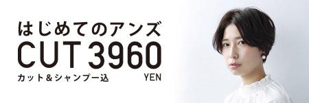 はじめてのアンズカット2980円