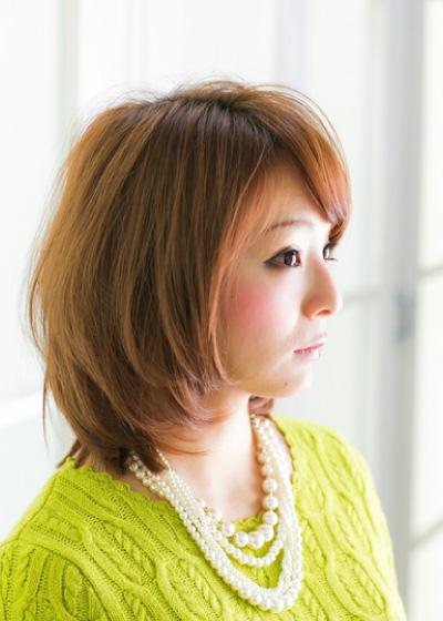甘×辛ナチュラルボブSide写真